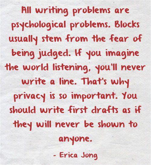 Writer's Tip