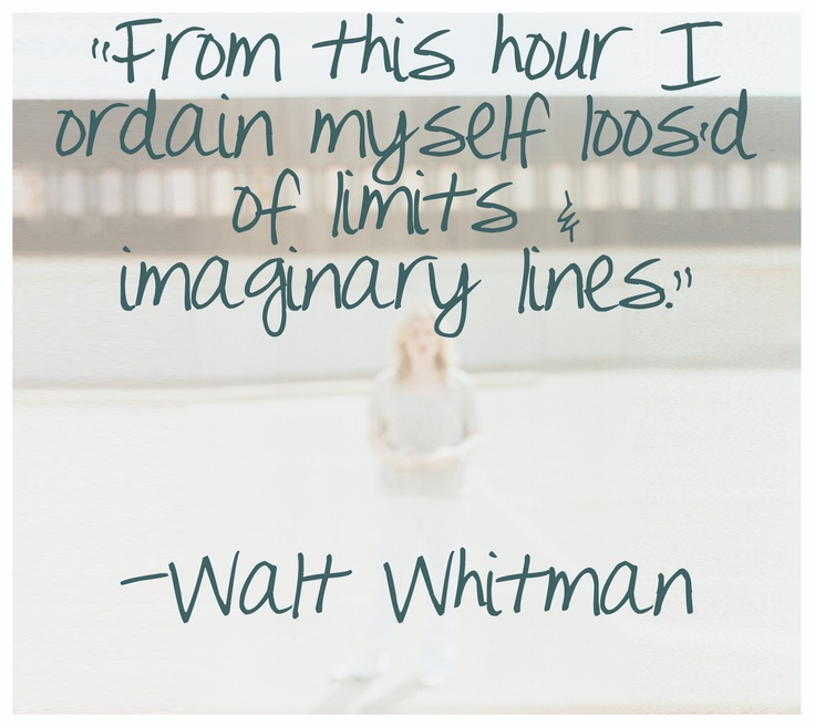 Walt Whitman Quotes Love: From This Hour…