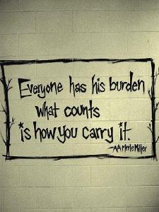 burden quote