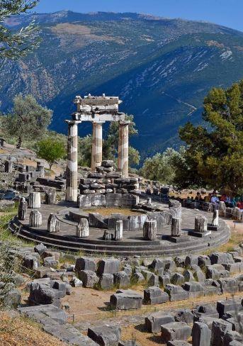 tholos temple greece