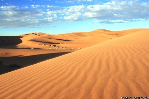 Thursday's Travels: The Sahara Desert | Wordgasm