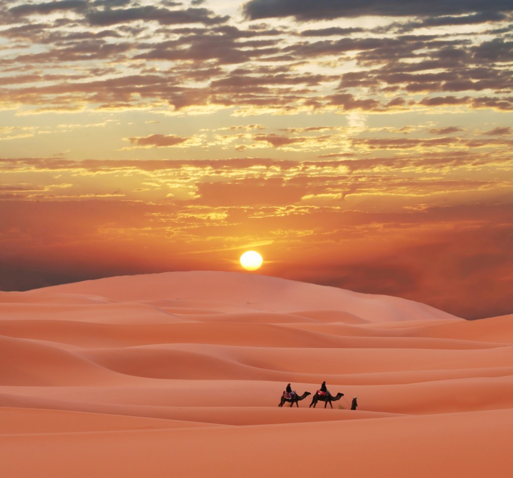 Thursday's Travels: The Sahara Desert | Wordgasm