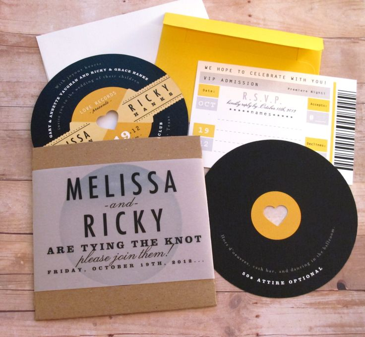 Record Wedding Invitations: Helpful Tips On Planning A Music