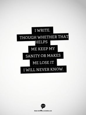 sanity quote