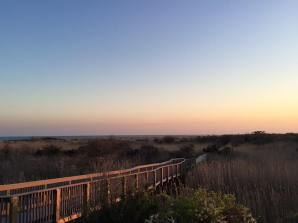 Long Island, NY - path to the Fire Island Lighthouse