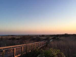 Long Island, NY - path to the Fire Island Lighthouse
